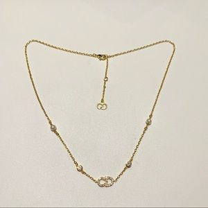 Vintage Dior Gold Tone Necklace EUC